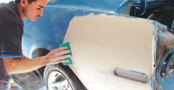 Mustang Paint Prep and Body Filler – How to Restore Your Mustang