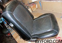 [Mustang Restoration Seat Reupholstery Guide - Step by Step] 1