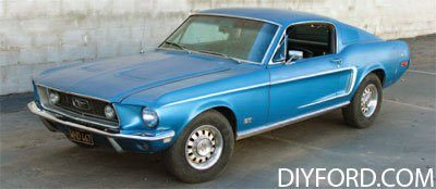 [How to Start a Mustang Restoration Project - Step by Step]01