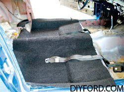 [Mustang Interior Guide - Carpet Replacement 1964 1/2 -1973] 3