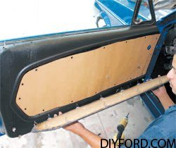 [How to Replace a Mustang Inner Door Panel - Step by Step] 5