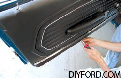 [How to Replace a Mustang Inner Door Panel - Step by Step] 7