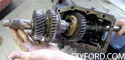 [How to Disassemble the Manual Transmission in a Mustang - Step by Step] 7