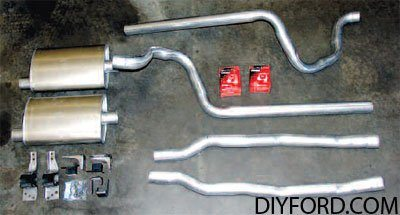 [Exhaust System Guide for Restoring Your Mustang]08