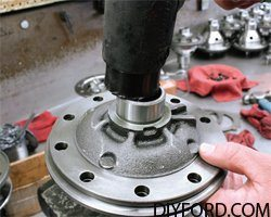 Ford 9 Inch Axle: Open Differential Assembly Guide 022