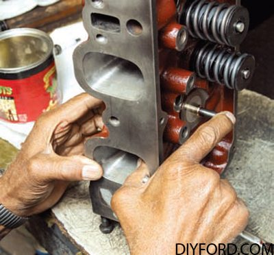 How to Prep Your Ford 351 Cleveland Cylinder Heads 08