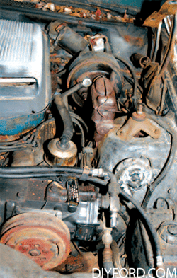 Rebuild Your Big-Block Ford - Remove Engine Step by Step 10