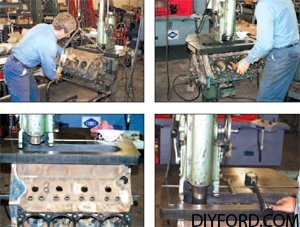 How to Machine the Cylinder Block for Your Big-Block Ford Engine Rebuild 1
