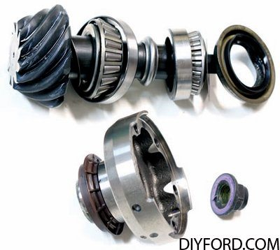 Ford 8.8 Inch Axle Assembly: Ring and Pinion Gear Set 1