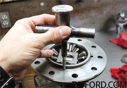 Ford 9 Inch Axle: Open Differential Assembly Guide 12
