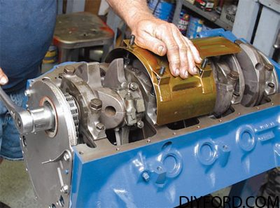 Ford 351 Cleveland Engine: Lubrication Guide 15