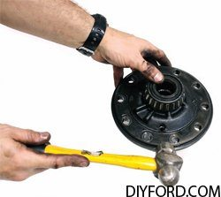 Ford 9 Inch Axle Disassembly: Third Member and Pinion Cartridge Removal 17