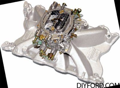 351 Cleveland Engine Induction Guide: Intake Manifold 1