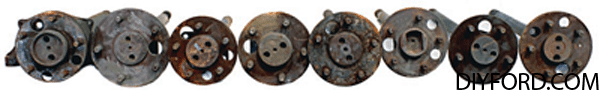 Ford Axle History and Identification: Ford Differentials 21