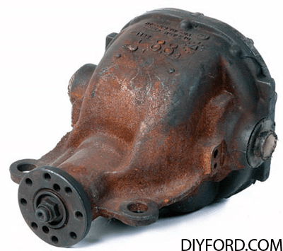 Ford Axle History and Identification: Ford Differentials 27