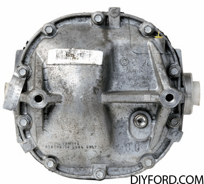 Ford Axle History and Identification: Ford Differentials 28