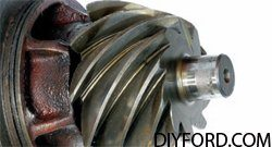 Ford 9 Inch Axle Disassembly: Third Member and Pinion Cartridge Removal 3
