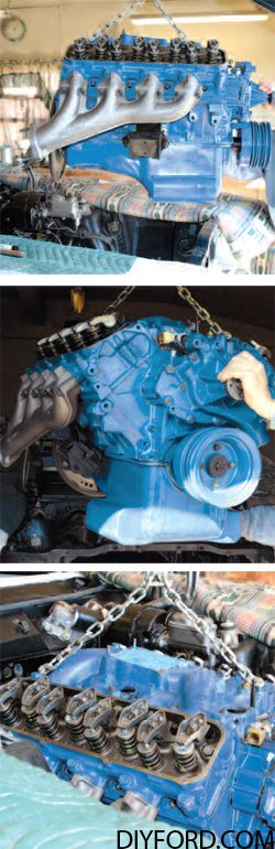 How to Install Your Big-Block Ford Engine Into Your Vehicle Step by Step 4