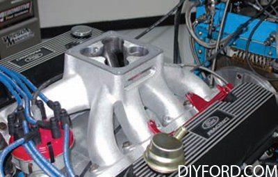 351 Cleveland Engine Induction Guide: Intake Manifold 6