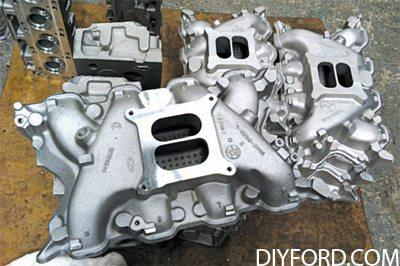 351 Cleveland Engine Induction Guide: Intake Manifold 7