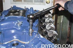 How to Install the Intake Manifold in Your Ford Big-Block Ford Engine Rebuild 7