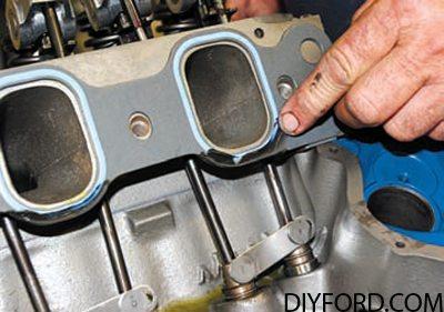 351 Cleveland Engine Induction Guide: Intake Manifold 9