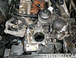 Ford Power Stroke 6.0L Engine Removal and Disassembly 11
