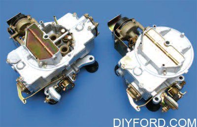 Ford Small-Block Engine Interchange: Induction System 1