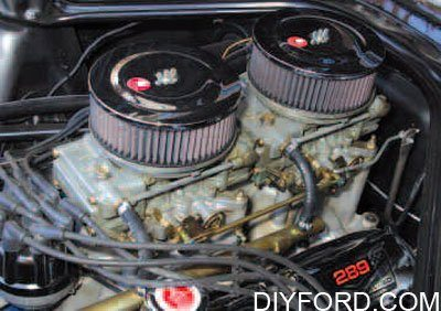 Ford Small-Block Engine Interchange: Induction System 11