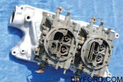 Ford Small-Block Engine Interchange: Induction System 12