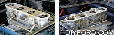 Ford Small-Block Engine Interchange: Induction System 13