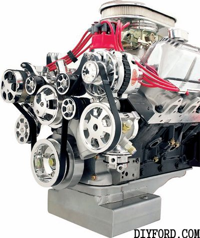 Ford FE Engine External Accessories Guide 6