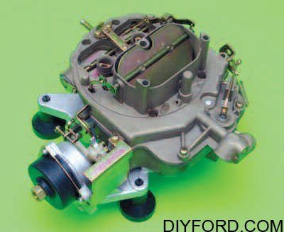 Ford Small-Block Engine Interchange: Induction System 7