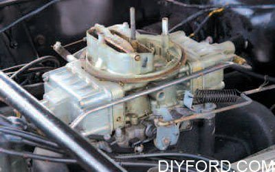 Ford Small-Block Engine Interchange: Induction System 8
