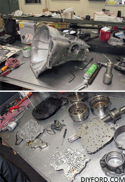 How to Start a Ford Transmission Rebuild Project: C4 and C6 2