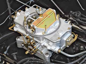 This Autolite 4100 carburetor has a manual choke. The only factory engine fitted with this carburetor was the 289 High Performance V-8 from 1964 to 1967.