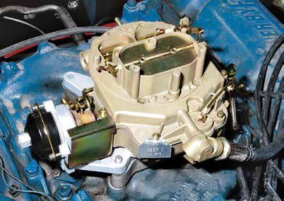 In an atmosphere of tougher emissions standards and some attention to fuel economy, Ford conceived the Autolite 4300 4-barrel carburetor. This very problematic carburetor arrived for 1967 as a 441-cfm atomizer. By 1968, Ford introduced a 600-cfm version. Each model brought a certain number of engineering refinements. How ever, despite Ford's best efforts, the 4300 was never very successful because success depends on proper tuning and a lot of patience.