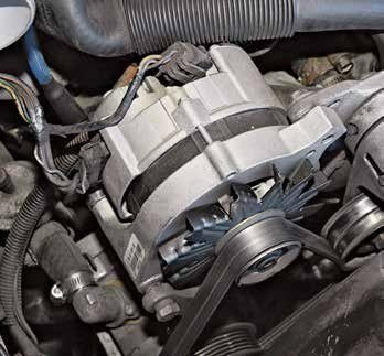 "The internally regulated Motorcraft 2G alternator first appeared on new Fords in 1982, replacing the older 1G, which had been in production since 1964. The 2G is nicknamed the ""fire starter"" due to its marginal three-pin plugs, which tend to short out. The keys to safe operation are periodic inspection and clean terminals."