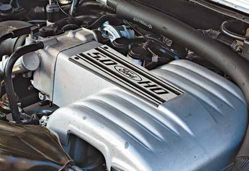 SEFI arrived for the 1986 model year yielding a totally new look for the small-block Ford. This was a bizarre-looking two-piece intake manifold with upper and lower segments. Long intake runners gave the small-block Ford a lot of torque.