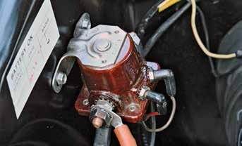 Ford used one basic type of starter solenoid from 1962 to the early 1980s, when it went to a single-post solenoid.