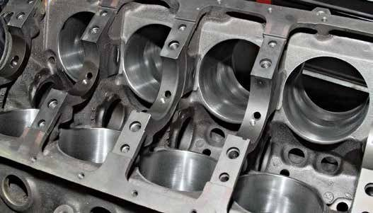 The F5ZM-6010-R302 block from Ford Racing is a four-bolt main race block that sports an 8.200-inch deck height with siamesed cylinder bores and 2.500-inch main journal sizing. If you're going racing, this is the block for your 302-based project. It is not available from Ford Racing anymore; however, there is plenty of used and new old stock out there.