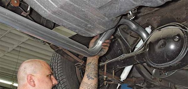 Flowmaster offers a complete line of exhaust systems for 1979–1995 Fox and SN-95 Mustang GTs with the 5.0L High Output engine. All you have to do is choose the muffler type. If you like loud and obnoxious pick the Series 40 from Flowmaster. The best muffler for cabin quiet is the Series 50 Delta Flow, which offers a mellow burble.