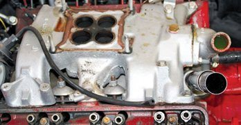 How to Rebuild Ford Y-Blocks: Pulling the Engine