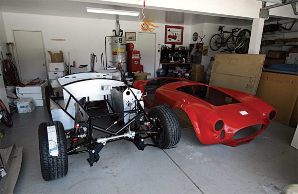 By the time you've reached this point in the build of your Cobra replica, you may begin to realize that this project is going to be finished. After all, there's a rolling chassis just waiting to receive the drivetrain.