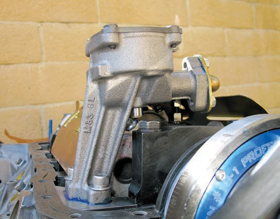 An upgraded oil pump, such as this Melling unit, can provide an extra margin of safety compared to even a new stock pump. A higher-volume pump is often the best choice because it circulates oil more quickly and helps cool it better. A high-volume pump can help compensate for larger bearing clearances. A high-pressure pump is called for when high RPM and relatively tight bearing clearances are the norm.