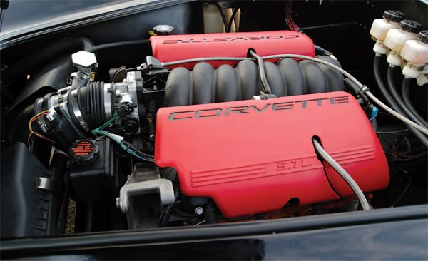 The Kruegers installed a Corvette LS1/LS6 engine and utilized 1990 Corvette Lingenfelter IFS and IRS.
