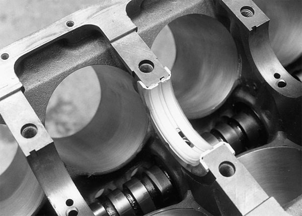 Bearing clearances have an effect on frictional power losses. This is where close attention must be paid to crankshaft machining issues.