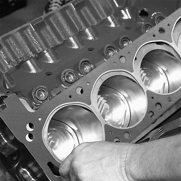 "Fel-Pro head gaskets keep the compression, combustion, and coolant contained. Note there is only one right way to install these head gaskets. Lay the end of the gasket labeled ""FRONT"" toward the front of the block."