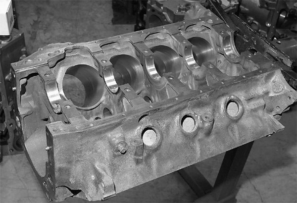 Our foundation is a 1970-vintage 351C block pulled from a '70 Mercury Cougar. It is a virgin two-bolt main block that has never been rebuilt. Speed-O-Motive has bored this block .030-inch oversize. The line bore looks good, and the decks are straight.