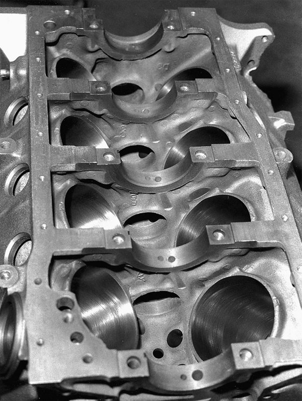 Did you check the line bore? You would be surprised how many don't. Line bore affects power output and engine wear. A flawed line bore puts unnecessary stresses on the crankshaft.